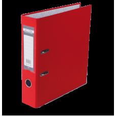 Папка-регистратор А4 LUX Jobmax, 70 мм, красная