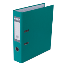 Папка-регистратор А4 LUX Jobmax, 70 мм, бирюзовая