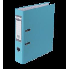 Папка-регистратор А4 LUX Jobmax, 70 мм, голубая