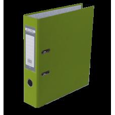 Папка-регистратор А4 LUX Jobmax, 70 мм, салатовая