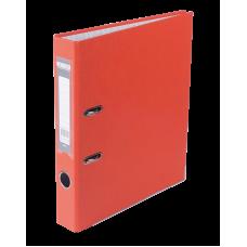Папка-регистратор А4 LUX Jobmax, 50 мм, оранжевая