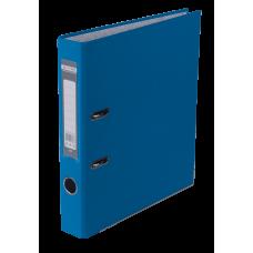 Папка-регистратор А4 LUX Jobmax, 50 мм, светло-синяя