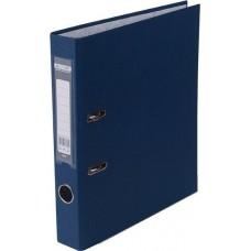 Папка-регистратор А4 LUX Jobmax, 50 мм, темно-синяя