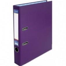 Папка-регистратор А4 Economix, 50 мм, фиолетовая