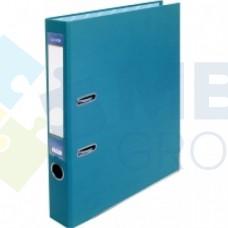 Папка-регистратор А4 Economix, 50 мм, бирюзовая