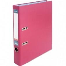 Папка-регистратор А4 Economix, 50 мм, розовая