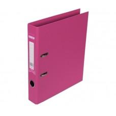 Папка-регистратор А4 ELITE Buromax, 50 мм, розовая
