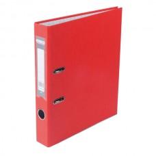 Папка-регистратор А4 LUX Jobmax, 50 мм, красная