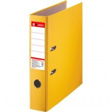 Папка-регистратор А4 DA, 75 мм, желтая
