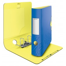 Папка-регистратор А4 Leitz Active Urban Chic 180°, 82 мм, синя