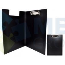 Папка-планшет А4 Economix с прижимом, черная