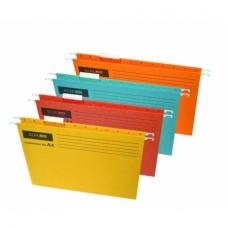 Файл подвесной А4 Economix, картонный, ассорти