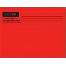 Файл подвесной А4 Economix, картонный, красный