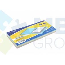 Разделитель листов 240x105мм Economix, картон, 100 шт., цветной