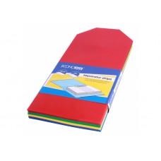 Разделитель листов 240x105мм Economix, пластик, 100 шт., цветной