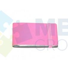 Визитница Optima Vivella на 20 визиток, искусственная кожа, розовая