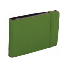 Визитница Optima Vivella на 20 визиток, искусственная кожа, зеленая