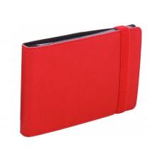 Визитница Optima Vivella на 20 визиток, искусственная кожа, красная