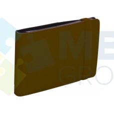 Визитница Optima Vivella на 20 визиток, искусственная кожа, коричневая