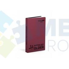 Визитница Economix на 72 визитки с впаянными файлами, пластик, ассорти