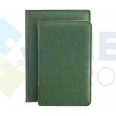 Визитница Optima Nebraska на 90 визиток, искусственная кожа, зеленая