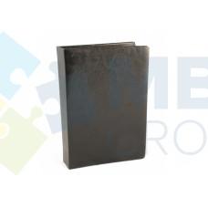 Визитница Optima Nebraska на 90 визиток, искусственная кожа, черная
