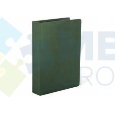 Визитница Optima Vivella на 90 визиток, искусственная кожа, зеленая