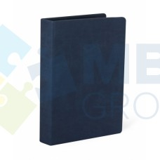 Визитница Optima Vivella на 90 визиток, искусственная кожа, синяя