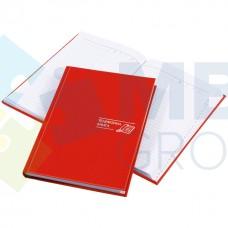 Телефонная книга Economix, A5, Samba, красная