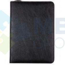 Бизнес-организатор на молнии Optima, 184 x 260 мм, на кольцах, черный