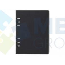 Бизнес-организатор Optima, 185 x 235 мм, на кольцах, черный