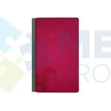 Блокнот с металлической планкой Optima 100 x 180 мм, ассорти