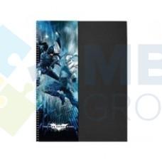 """Блокнот Cool for school, А4, 80 л., серия """"Batman"""", боковая спираль"""