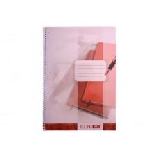 Блокнот Economix, B5, 120 л., с разделителями, ассорти