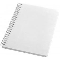 Блокнот Economix, А5, 80 л., боковая спираль, белый