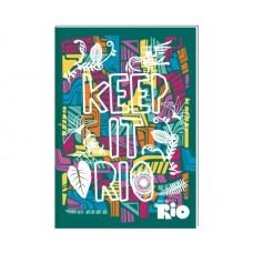 """Блокнот Cool for school, А5, 48 л., серия """"Rio"""", термобиндер, вертикальная проклейка"""