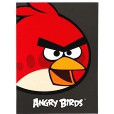 """Блокнот Cool for school, А5, 48 л., серия """"Angry Birds"""", термобиндер, вертикальная проклейка, черный"""