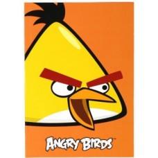 """Блокнот Cool for school, А5, 48 л., серия """"Angry Birds"""", термобиндер, вертикальная проклейка, оранжевый"""