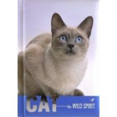 "Блокнот Cool for school ""Wild Spirit"" А6, 80 л., шитье на нитку, ""Кошка"""