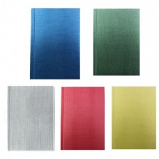 "Блокнот Economix ""Текстиль"", А6, 80 л., шитье на нитку, ассорти"