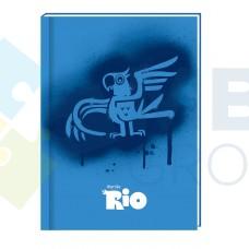 "Блокнот Cool for school, А6, 80 л., серия ""Rio"", шитье на нитку"