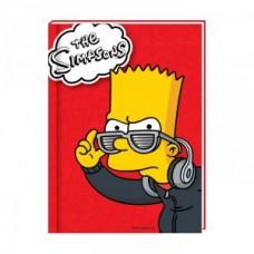 """Блокнот Cool for school, А6, 80 л., серия """"Simpsons"""", шитье на нитку"""