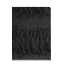 """Блокнот Economix """"Змея"""", А6, 80 л., шитье на нитку, черный"""