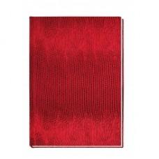 """Блокнот Economix """"Змея"""", А6, 80 л., шитье на нитку, красный"""