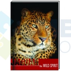 "Блокнот Cool for school ""Wild Spirit"" А6, 80 л., шитье на нитку, ""Ягуар"""