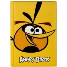 """Блокнот Cool for school, А6, 80 л., серия """"Angry Birds"""", шитье на нитку, желтый"""
