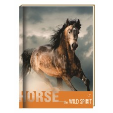 "Блокнот Cool for school ""Wild Spirit"" А6, 80 л., шитье на нитку, ""Лошадь"""