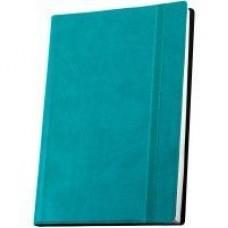 Деловой блокнот Optima Vivella, А5, 256 л., мягкая обложка, бирюзовый