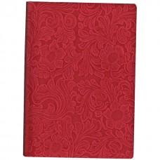 Деловой блокнот Optima Lady, А5, 256 л., твердая обложка, красный