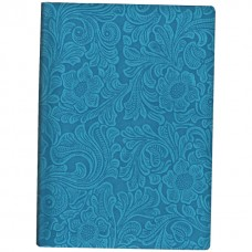 Деловой блокнот Optima Lady, А5, 256 л., твердая обложка, голубой